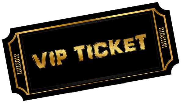 Vip Ticket PNG - 54517
