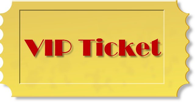 Vip Ticket PNG - 54513