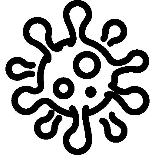 512x512 pixel - Virus PNG