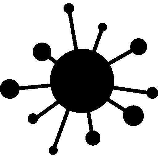 Computer virus free icon - Virus PNG