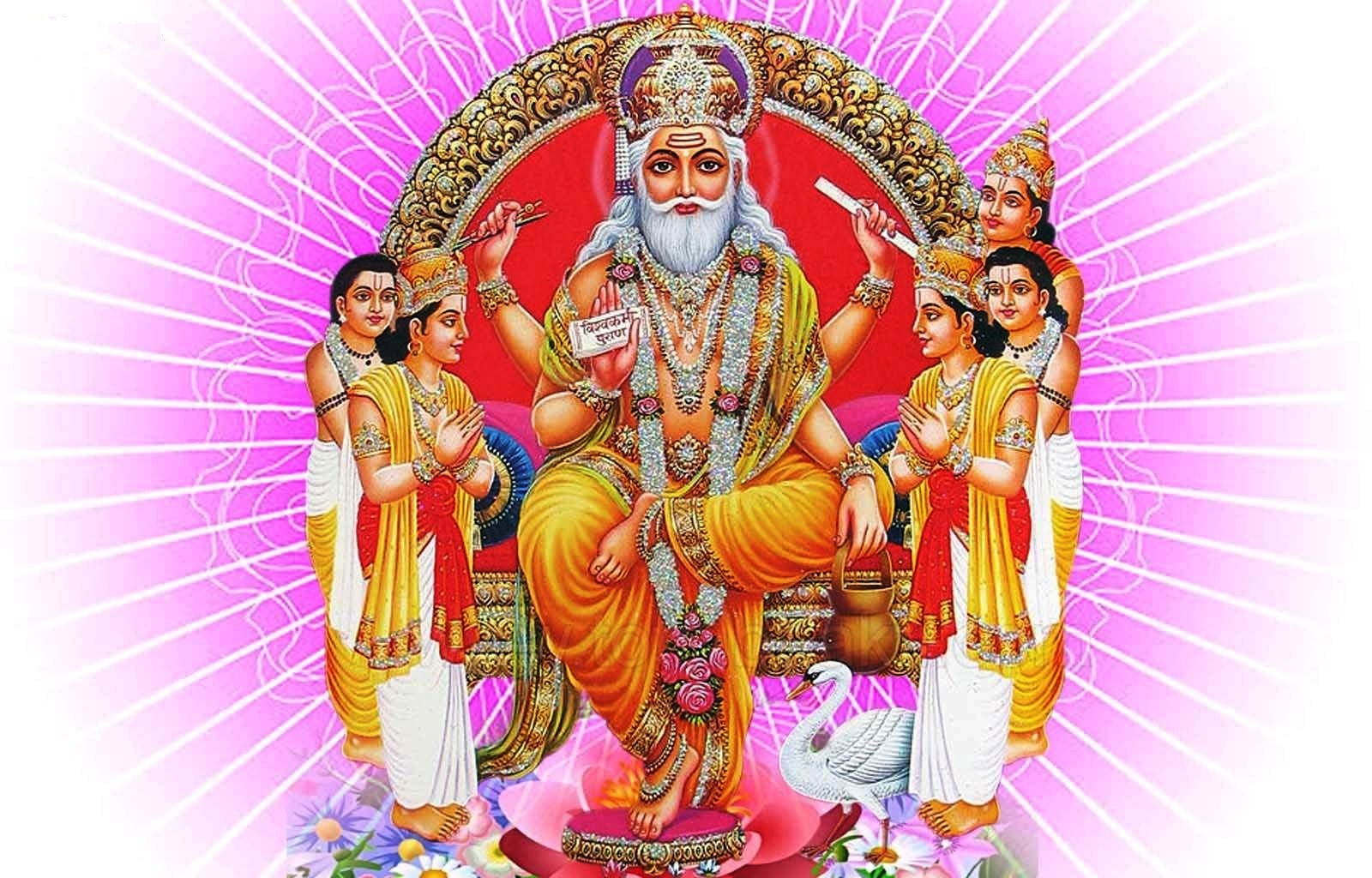 Vishwakarma God PNG-PlusPNG.com-1600 - Vishwakarma God PNG