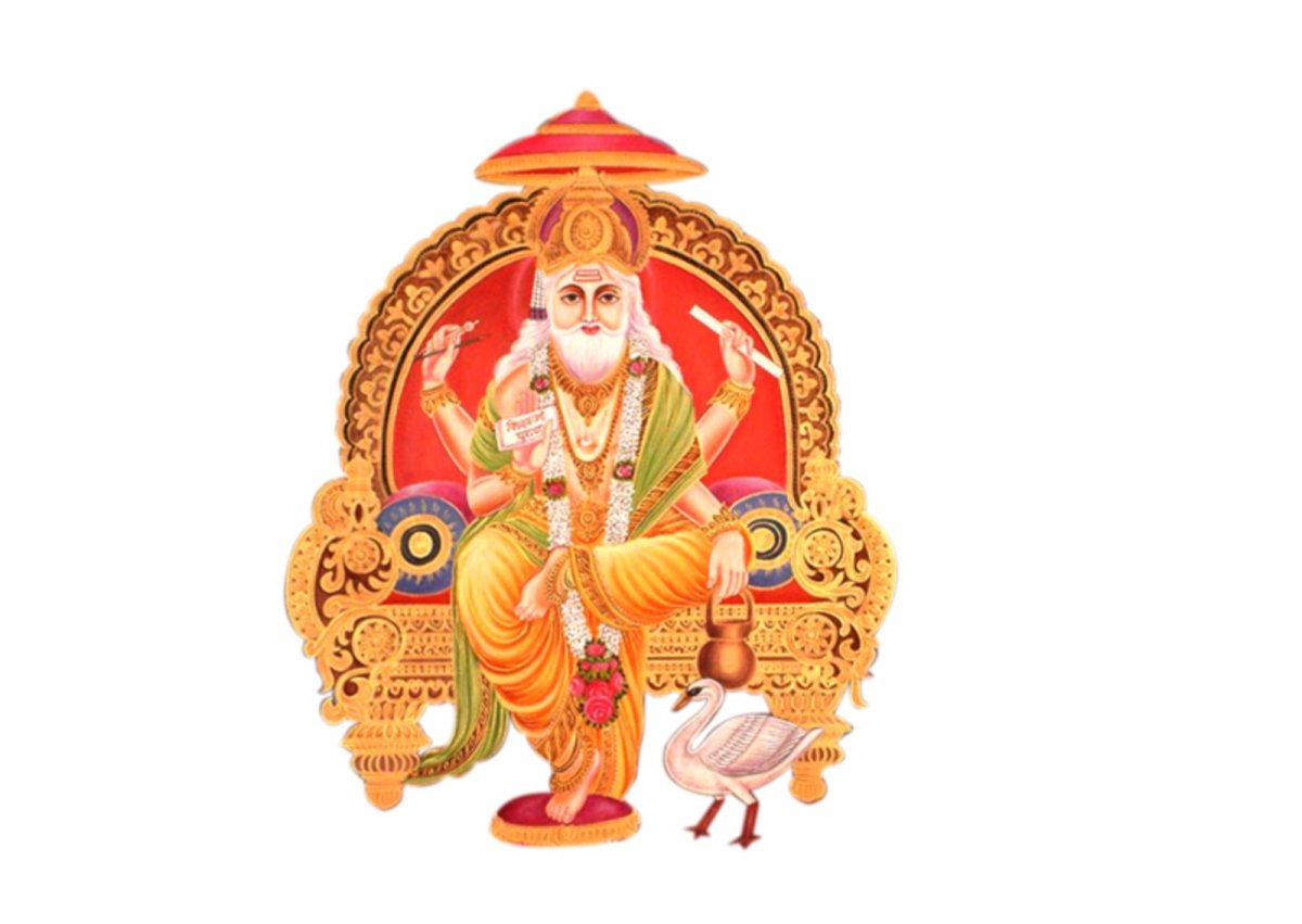 Below is the Best Collection of Happy Vishwakarma Day 2016 Images,  Wallpapers, Pictures and Photos: - Vishwakarma God PNG