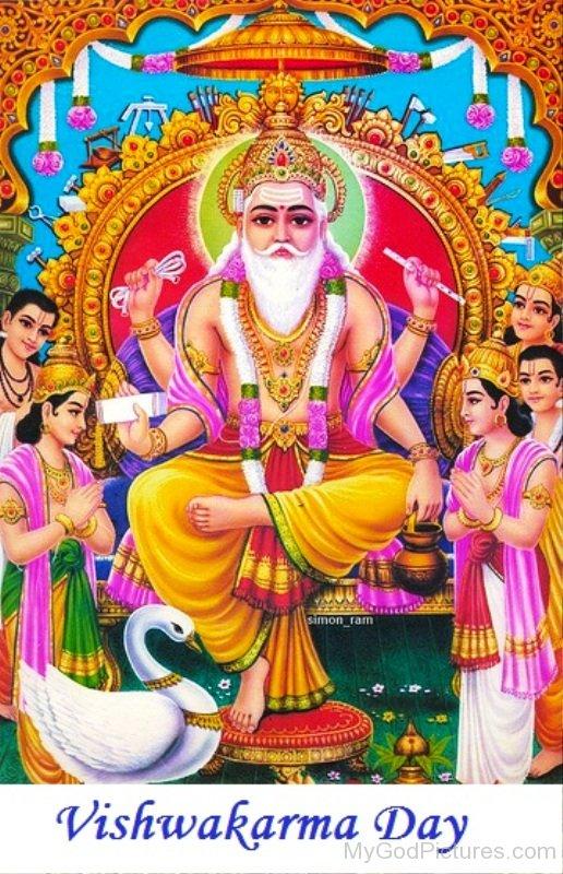 Vishvakarma Day-mv412 - Vishwakarma God PNG