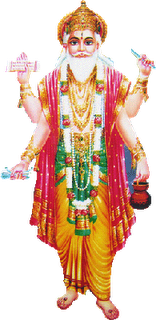 Vishwakarma is known as the divine engineer of the world. As a mark of  reverence he is not only worshipped by the engineering and architectural  community PlusPng.com  - Vishwakarma God PNG