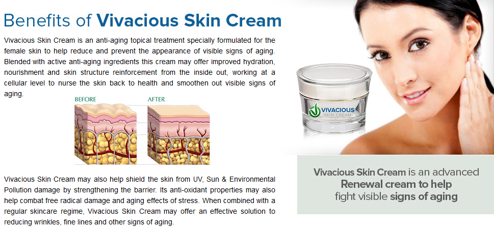 Claim Vivacious Skin Cream - Vivacious PNG