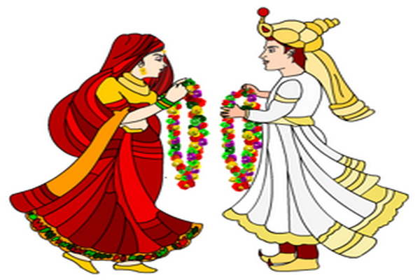 Indian wedding vector png