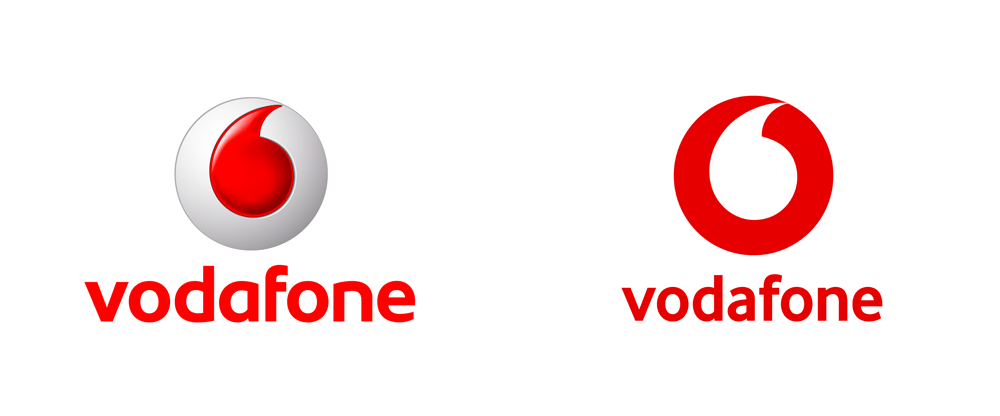 New Logo for Vodafone by Brand Union - Vodafone PNG