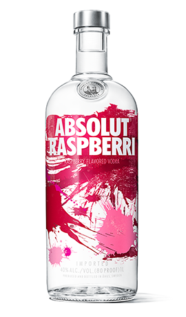 Absolut Raspberri - Vodka HD PNG