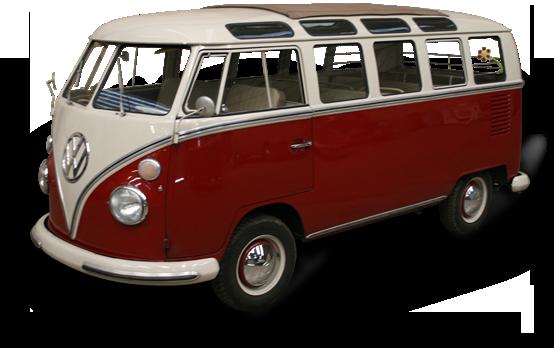 Volkswagen Busje PNG