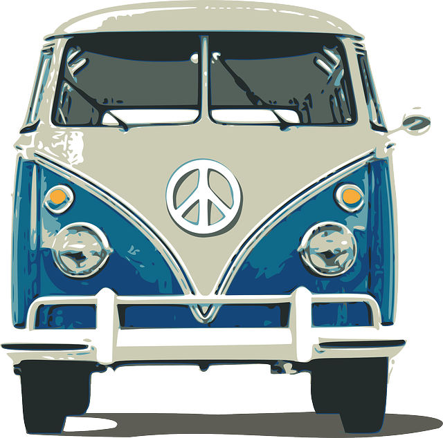 Free Image on Pixabay - Bus, Car, Van, Volkswagen, Travel - Volkswagen Busje PNG