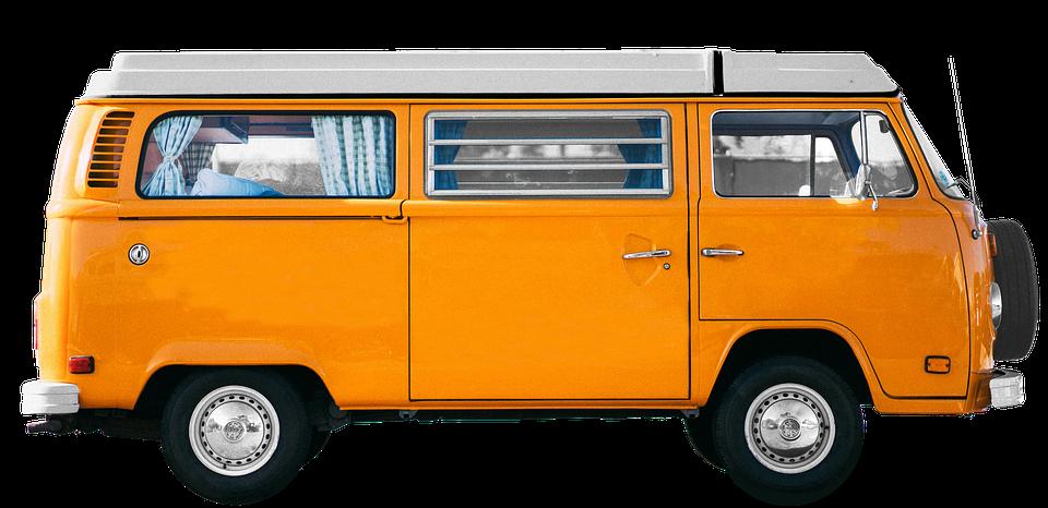 Vw, Bulli, Camping Bus, Vw Bulli, Vw Bus - Volkswagen Busje PNG