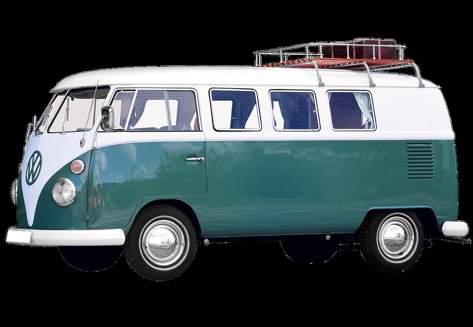 Vw Bus, Oldtimer, Bulli, Vw, Auto, Kult - Volkswagen Busje PNG