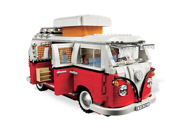 VW-bus van Lego - Volkswagen Busje PNG
