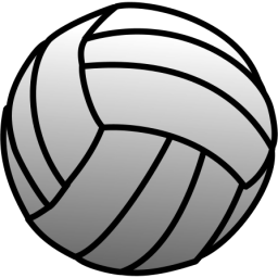 256x256 px Volleyball Png - Volleybal PNG