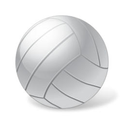 Download PNG | 256px Download ICO - Volleybal PNG