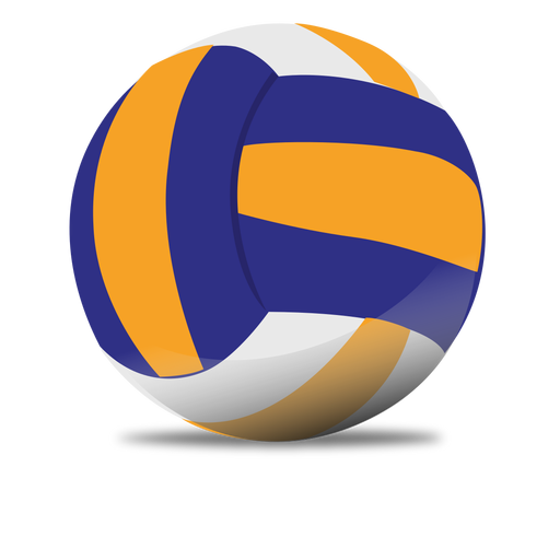 Glossy volleyball png - Volleybal PNG