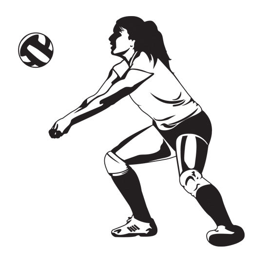 volleyball. correctly - Volleyball Players PNG Hitting
