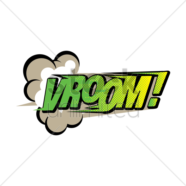 comic effect vroom vector graphic - Vroom Vroom PNG