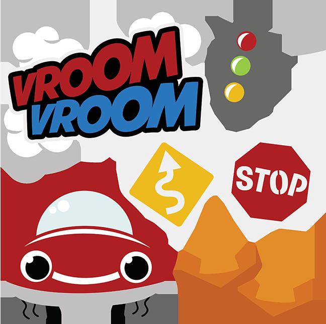 Vroom Vroom SVG car svg file boy svg files free svg files svg files for  scrapbooking cute clipart - Vroom Vroom PNG