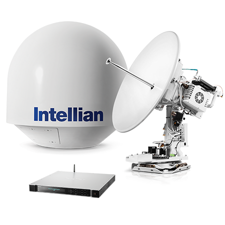 Intellian v80G Featured Product Image - Vsat PNG