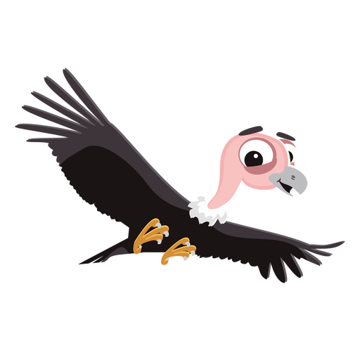 Vulture cartoon png - Vulcher PNG