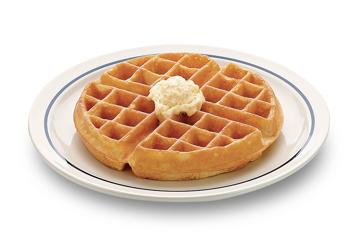 Waffle Breakfast PNG-PlusPNG.com-1160 - Waffle Breakfast PNG