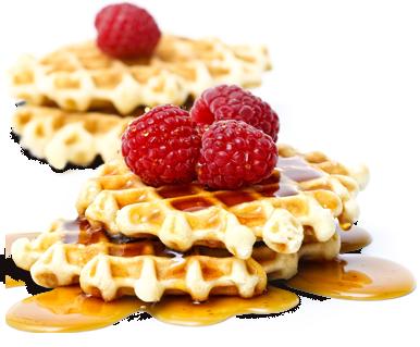 Waffle Breakfast PNG - 54149