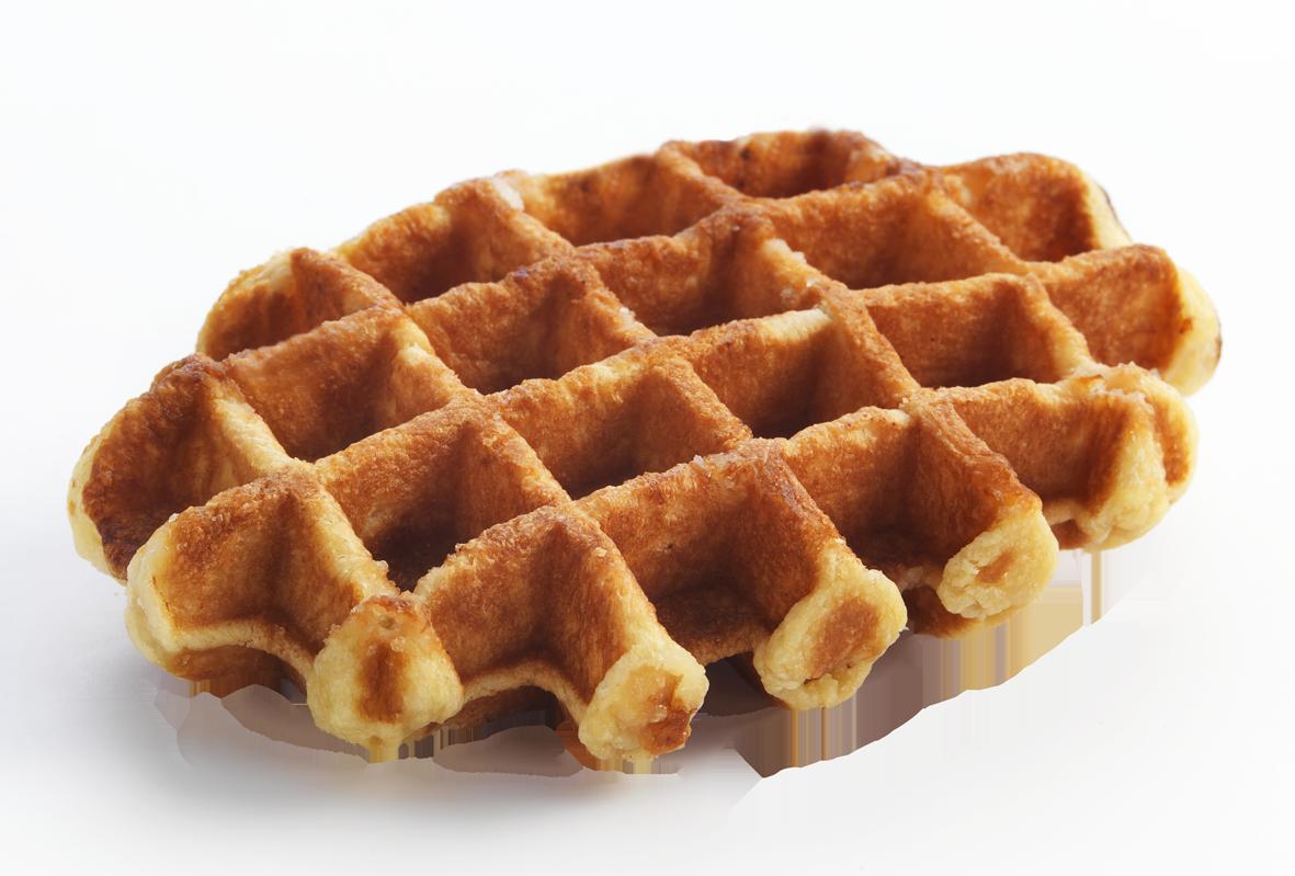 Belgian Sugar Waffle - Waffle Breakfast PNG