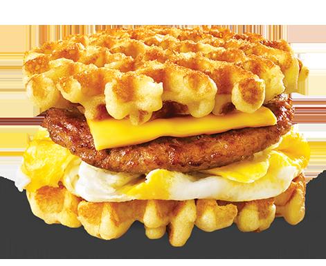 Breakfast Waffle Slider - Waffle Breakfast PNG