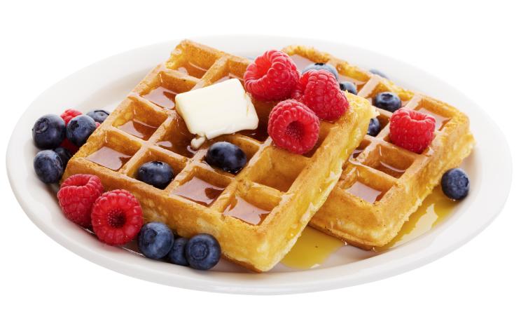 Waffle Breakfast PNG - 54148
