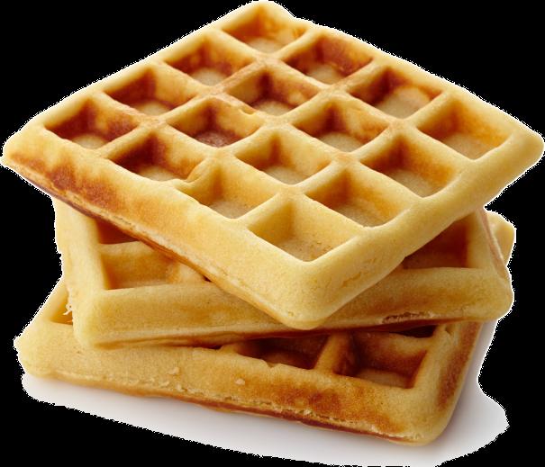 Waffle Breakfast PNG - 54156