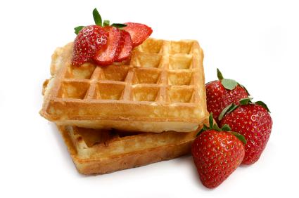 waffle - Waffle Breakfast PNG