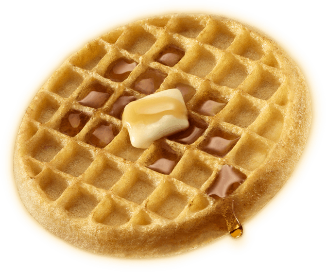 Waffle-brunch.png - Waffle Breakfast PNG