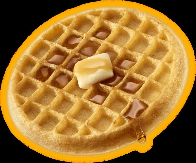 Waffle Breakfast PNG - 54146