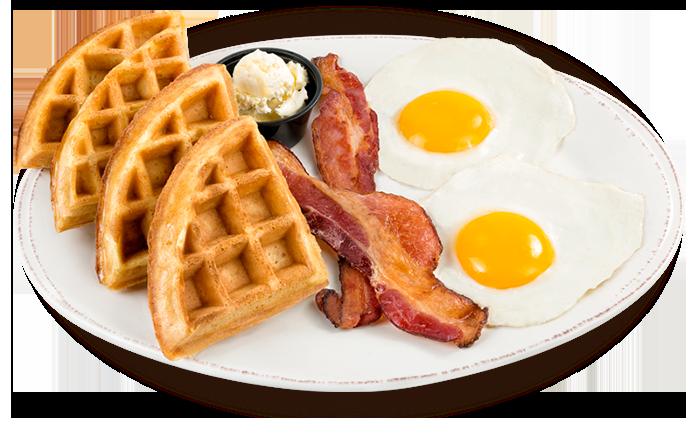 Waffle Breakfast PNG - 54150