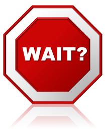 Wait Sign PNG - 53996