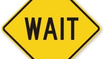 Wait Sign PNG - 53997