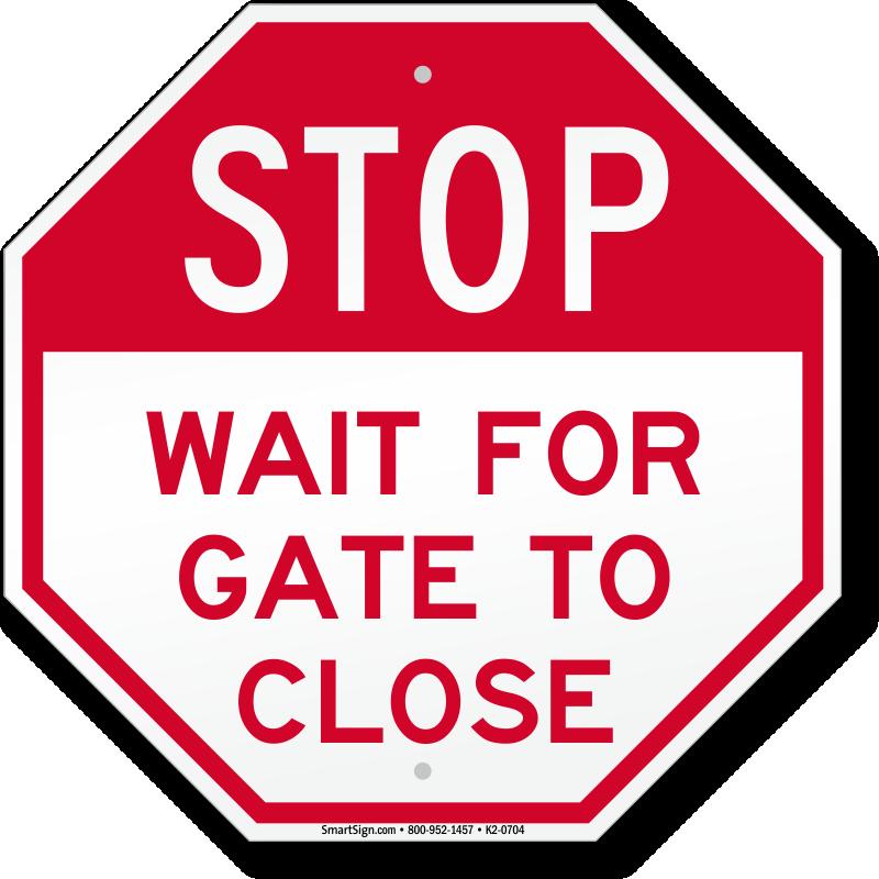 Wait Sign PNG - 54003