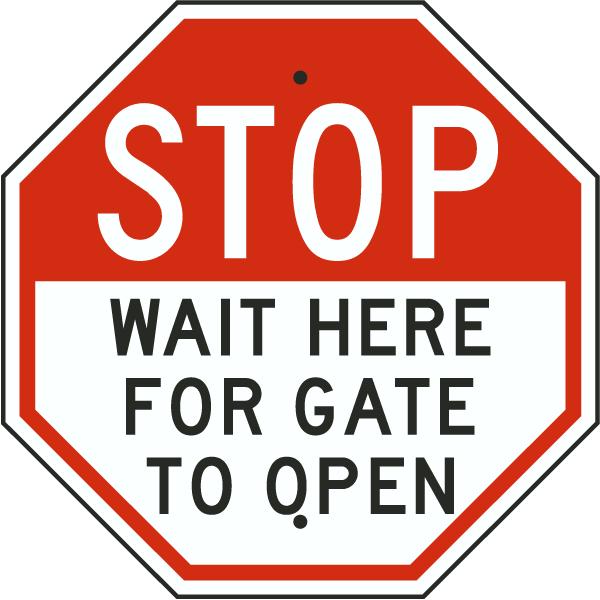 Wait Sign PNG - 53998