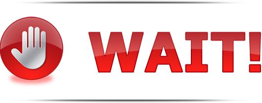 Wait Sign PNG - 53993