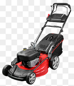 a machine with an engine, Lawn Mower, Power, Semi-automatic PNG Image - Walk Behind Mower PNG