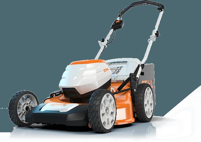 Stihl RMA 520 battery powered lawn mower - Walk Behind Mower PNG