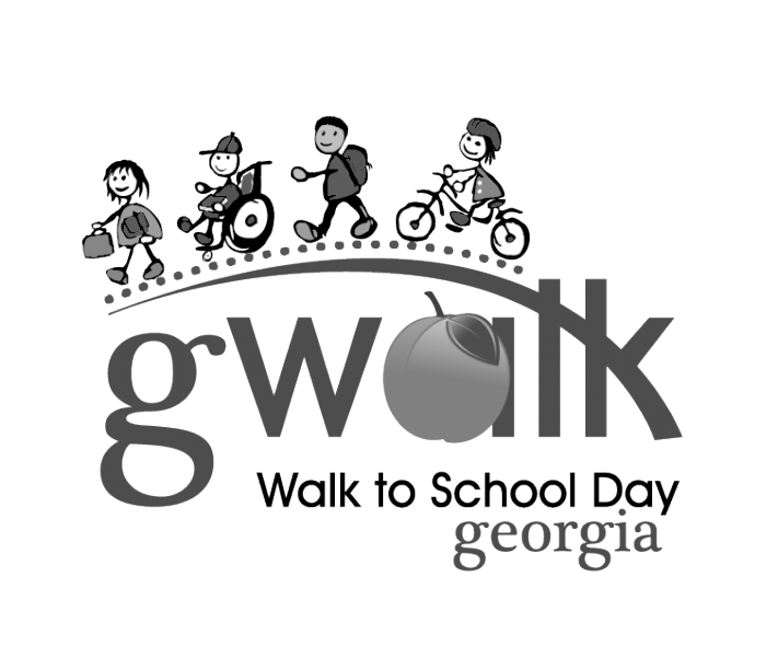 gWalk Resources - Walk To School PNG Black And White