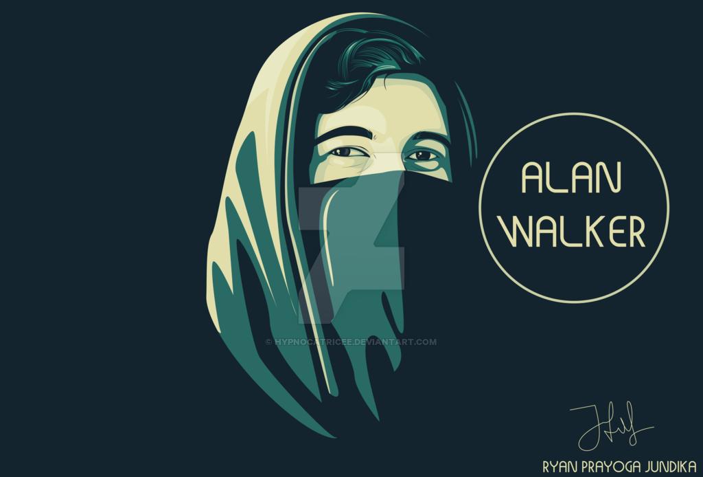 . PlusPng.com Alan Walker Cartoon 7 Alan Walker By Hypnocatricee PlusPng.com  - Walker PNG HD