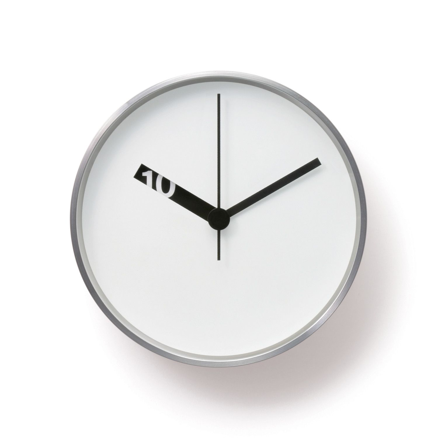 Extra Normal Wall Clock // White Face - Wall Clock PNG Black And White