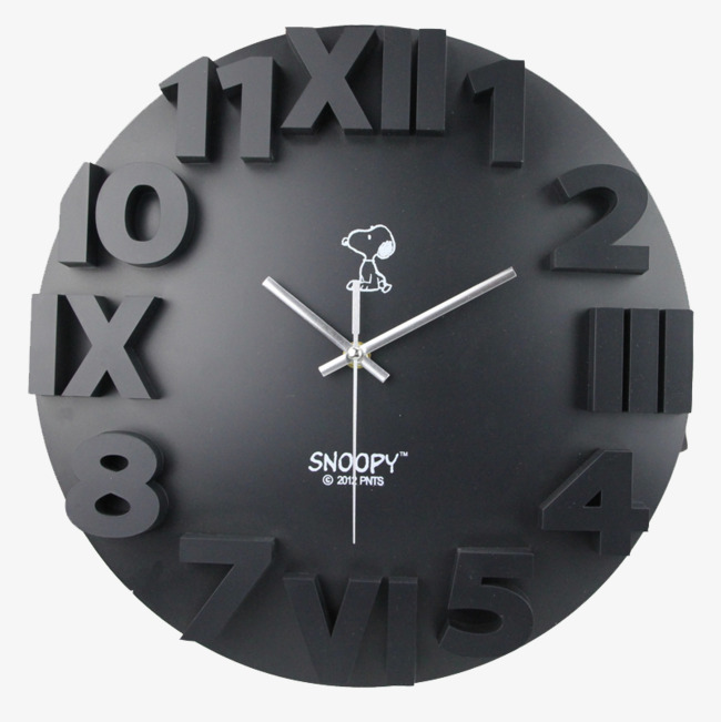 history than efforts lovely combination digital clock, Product Kind, Wall  Clock, Black PNG - Wall Clock PNG Black And White