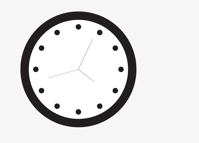 vector black hanging watch clocks, Vector Wall Clock, Black Wall Clocks,  Pocket Watch - Wall Clock PNG Black And White