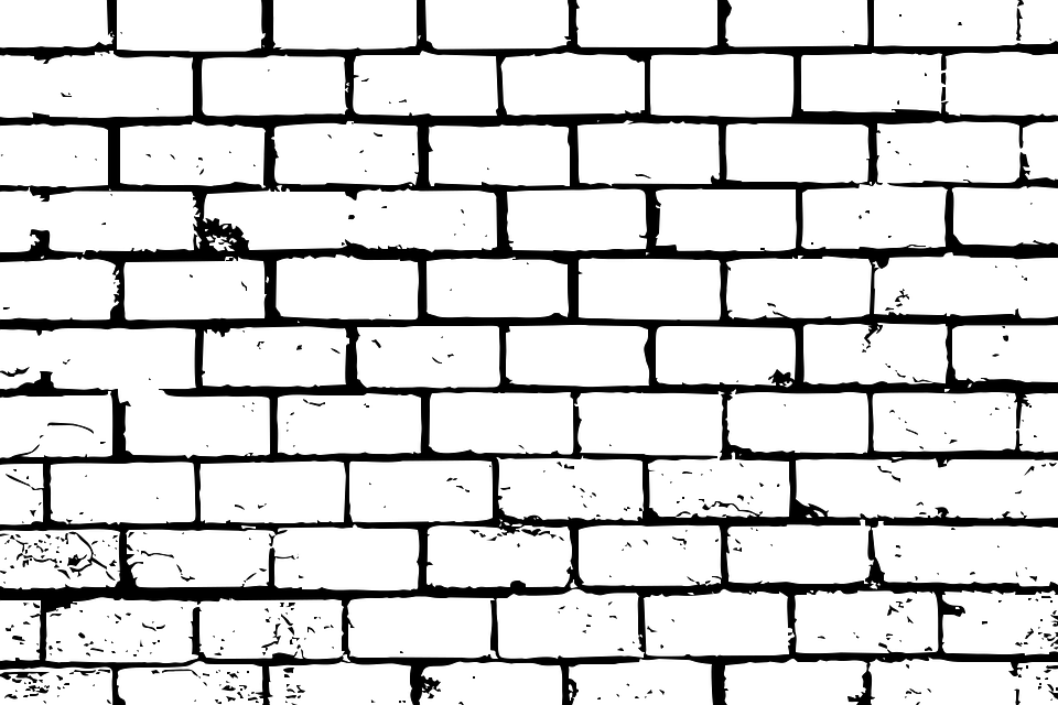 bricks wall brick wall background grunge masonry - Wall PNG Black And White