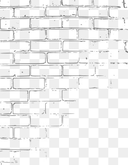 -drawn cartoon of a wall, Cartoon, One Side, Wall PNG Image and - Wall PNG Black And White