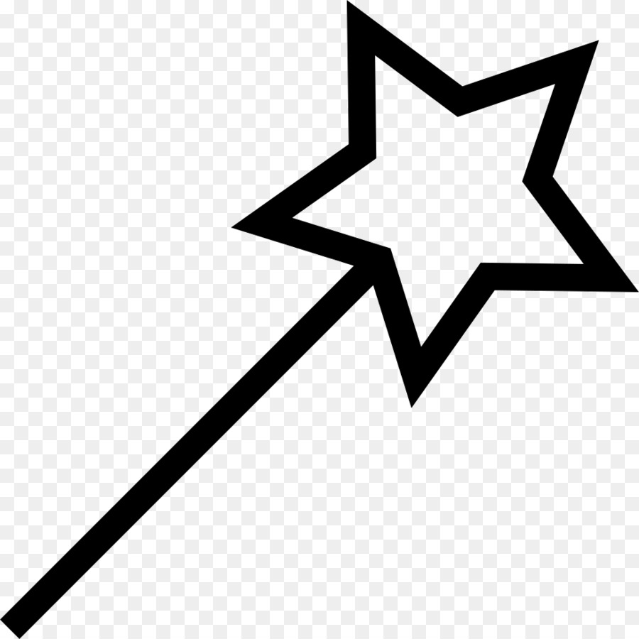 Wand PNG Black And White - 162483